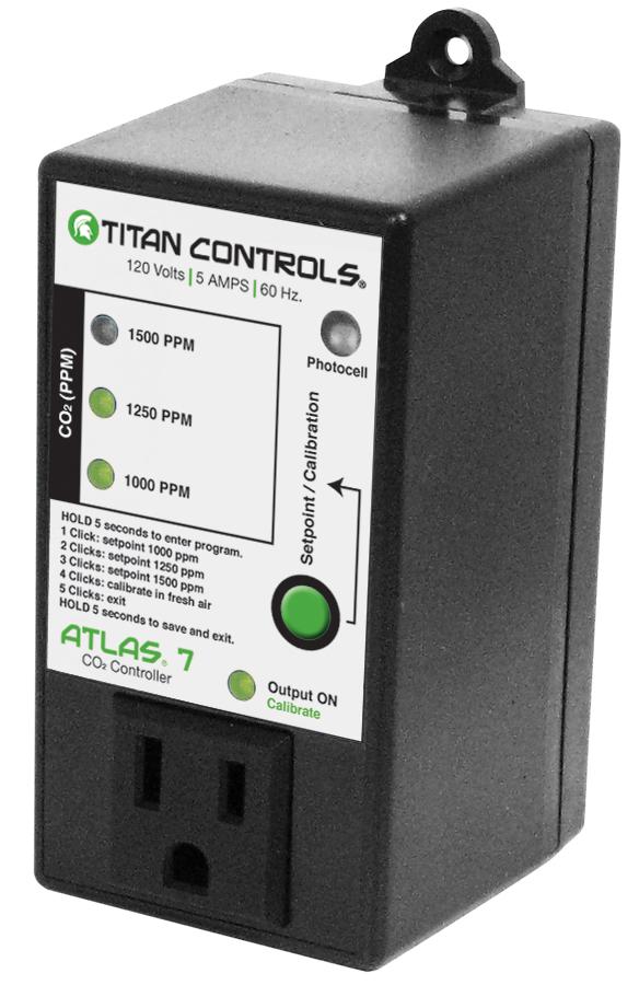 Titan Controls Atlas 7 - CO2 Controller