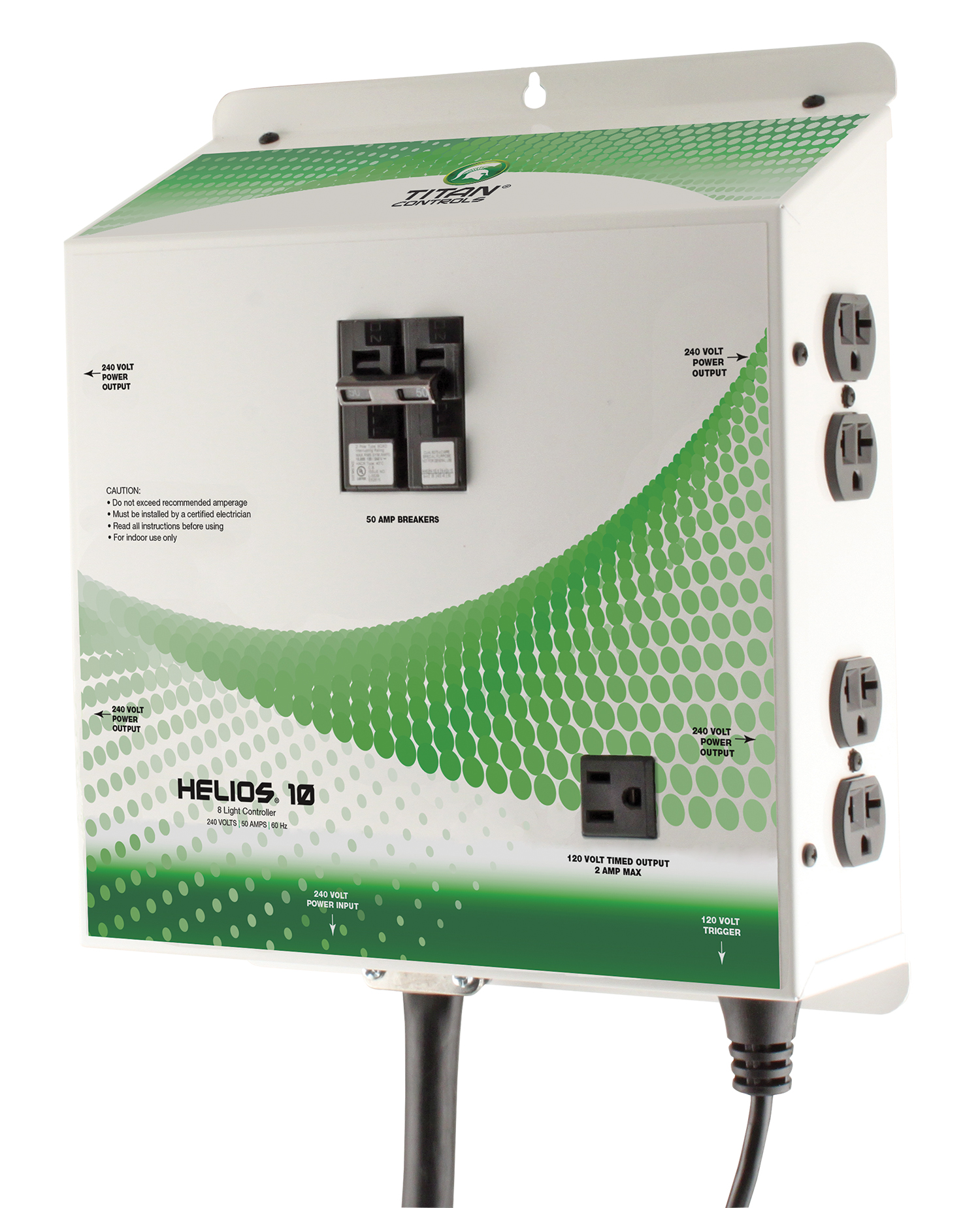 Titan Controls Helios 10 Pre Wired 8 Light 240v Controller With Hid Wiring Diagram Part 702679 Download Image
